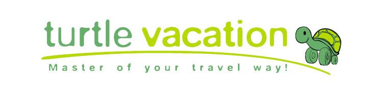 turtle vacation logo